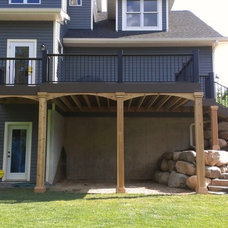 Traditional Patio by UglyDeck.com