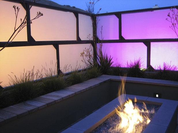 コンテンポラリー テラス・中庭 by Jeffrey Gordon Smith Landscape Architecture