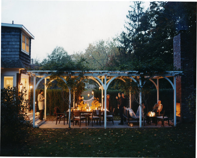traditional patio by SchappacherWhite Architecture D.P.C.