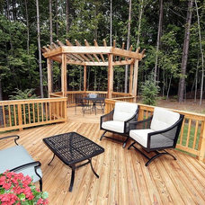 Traditional Patio by David Weekley Homes