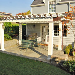 traditional patio by Samuel H. Williamson Associates