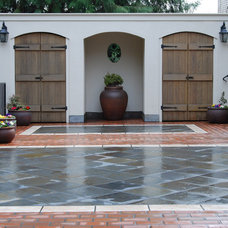 Mediterranean Patio by Samuel H. Williamson Associates