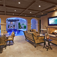 Traditional Patio by CFdesign
