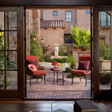 Mediterranean Patio by Beringer Fine Homes