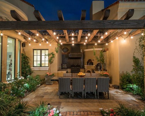 Phoenix patio design ideas remodels photos houzz for Southwest pergola