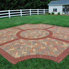 Traditional Patio by Paving Brick Creations, Inc.