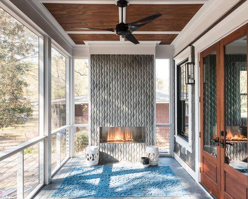 Foto e idee per arredare casa moderna charleston for Portico laterale in stile casa in stile charleston