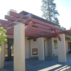 Modern Patio by Haxton design-build llc