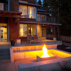 Modern Patio by Dan Nelson, Designs Northwest Architects