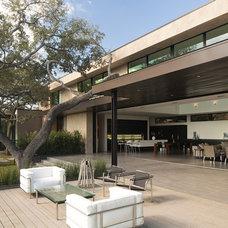 Contemporary Patio by Dick Clark + Associates