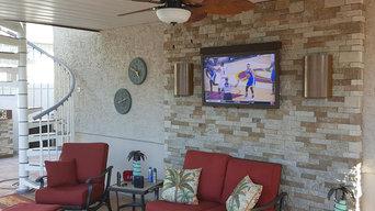 SkyVue Outdoor TVs in Use