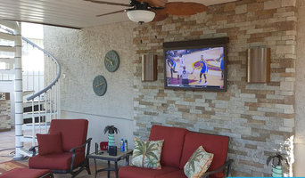 SkyVue Outdoor TVs in Use
