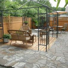 Contemporary Patio by Garden Culture Victoria
