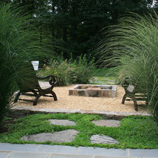 Traditional Patio by Carex:  Garden Design by Carolyn Mullet