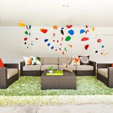 Modern Patio by Abbe Fenimore Studio Ten 25