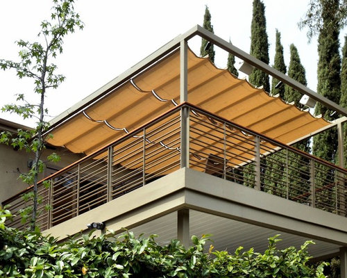 Slide Wire Patio Canopies