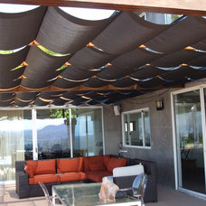 Modern Patio by Calshades and Awnings, Inc