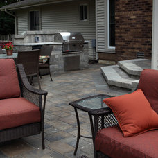 Traditional Patio by Clear Creek Landscapes