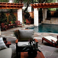 Traditional Patio by Original Landscape Concepts Inc