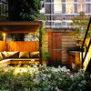 Nightfall Brings a Dutch Urban Garden to Life