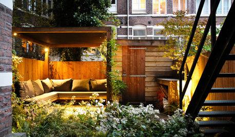 До и после: Сад на 1 (!) сотке—на заднем дворе в Амстердаме