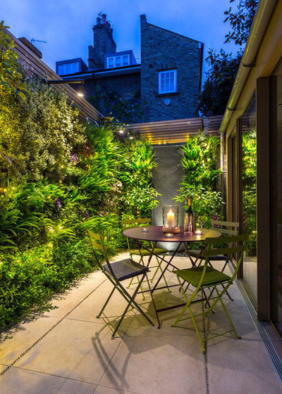 Modern Patio by The Garden Builders