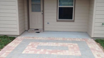 Small Pavestone Patio