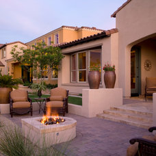 Contemporary Patio by Red Rock Pools and Spas and Red Rock Contractors