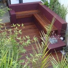 Contemporary Patio by The Galium Garden