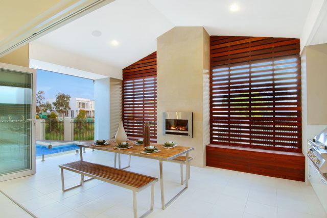 Contemporary Patio by SMB Interior Design