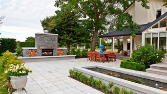 Smooth Natural Concrete Paving