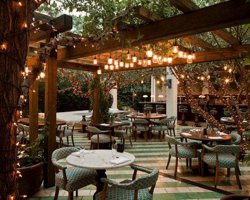 Tropical restaurant lighting home design photos decor ideas