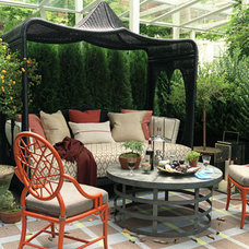 Eclectic Patio by Thom Filicia Inc.