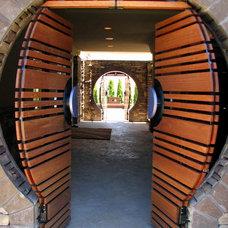 Modern Patio by Chuck B. Edwards - Breckon Land Design