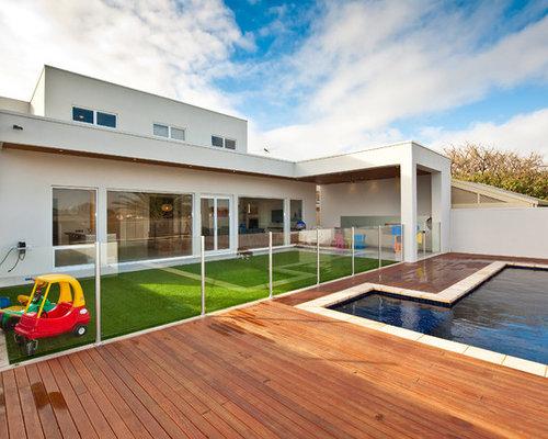 Contemporary adelaide outdoor design ideas renovations for Beach house designs adelaide