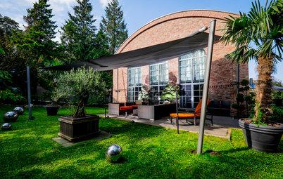 12 Tipps für kleine Gärten von freistehenden Einfamilienhäusern