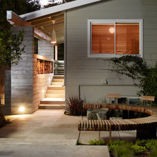 Midcentury Porch by Michael Tauber Architecture