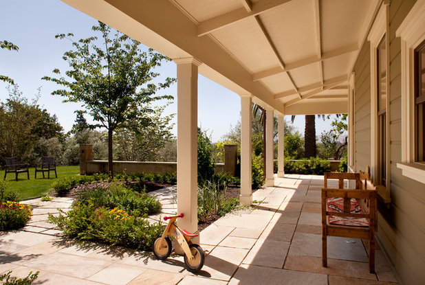 Traditional Patio by Gustave Carlson Design