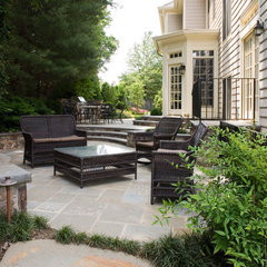 contemporary patio by Surrounds Landscape Architecture and Construction