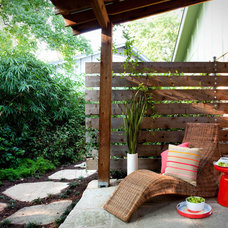 Traditional Patio by B. Jane Gardens