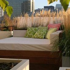 Contemporary Patio by Chicago Specialty Gardens, Inc.