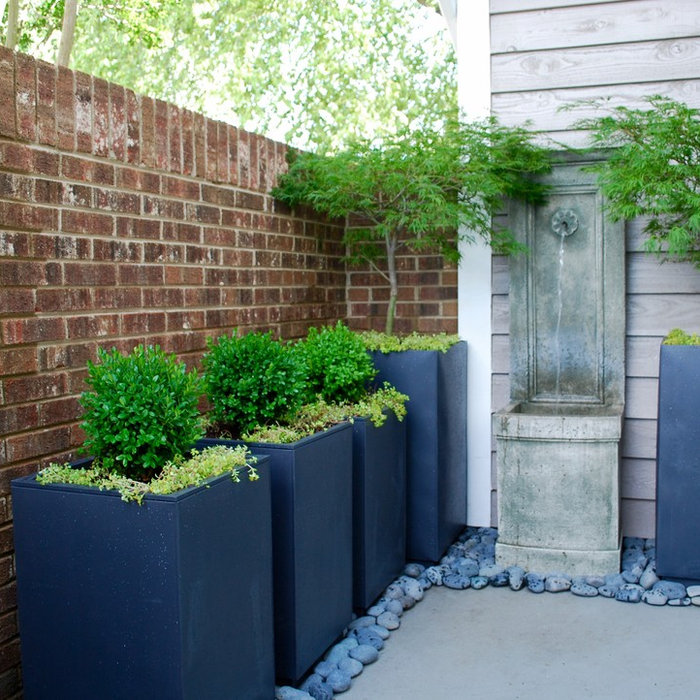 70 Square Foot Charlotte Condo Courtyard Redesign