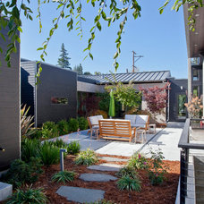 Modern Patio by Elevation Architects