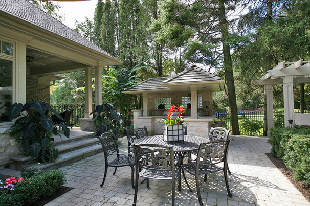 Traditional Patio by Foremost Construction Inc