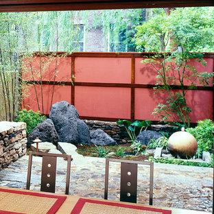 Idee per un piccolo patio o portico etnico