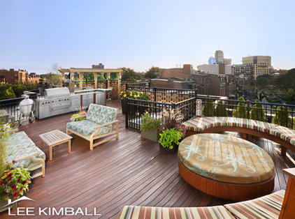 Contemporary Patio by Lee Kimball