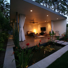asian patio by Drayton Design
