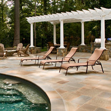 Traditional Patio by Michael Prokopchak, ASLA