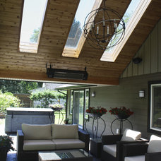 Traditional Patio by Sarah Gallop Design Inc.