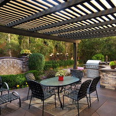 Traditional Patio by Michael Kelley Photography